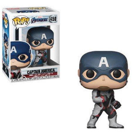Captain America Marvel Avengers Endgame - Funko Pop series.