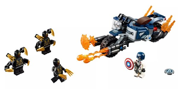 Captain America Outriders Attack