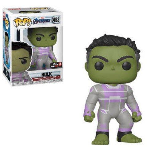 Hulk, GameStop exclusive Marvel Avengers Endgame - Funko Pop series.