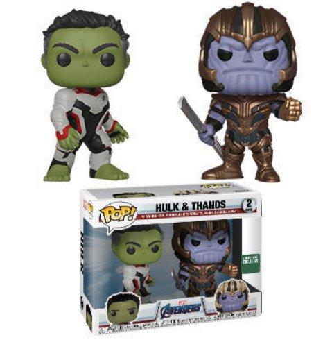 Hulk & Thanos, Barnes & Noble exclusive Marvel Avengers Endgame - Funko Pop series.