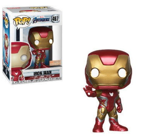 Iron Man BoxLunch exclusive Marvel Avengers Endgame - Funko Pop series.