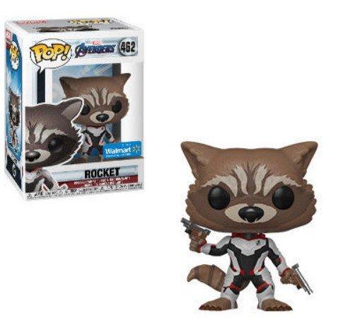 Rocket Walmart exclusive Marvel Avengers Endgame - Funko Pop series.