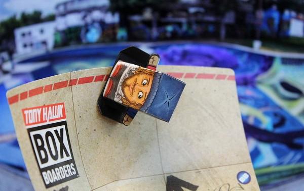 Tony Hawk Box Boarders rewiews