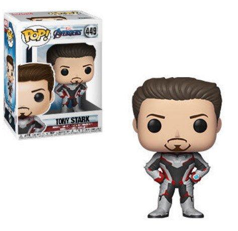 Tony Stark Marvel Avengers Endgame - Funko Pop series.