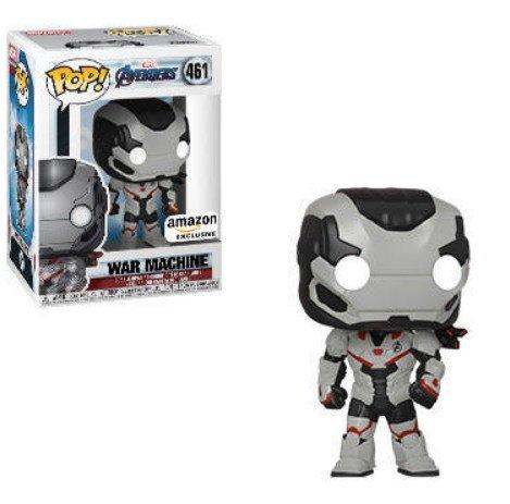 War Machine, Amazon exclusive Marvel Avengers Endgame - Funko Pop series.