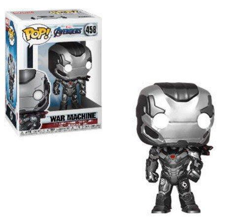 War Machine Marvel Avengers Endgame - Funko Pop series.