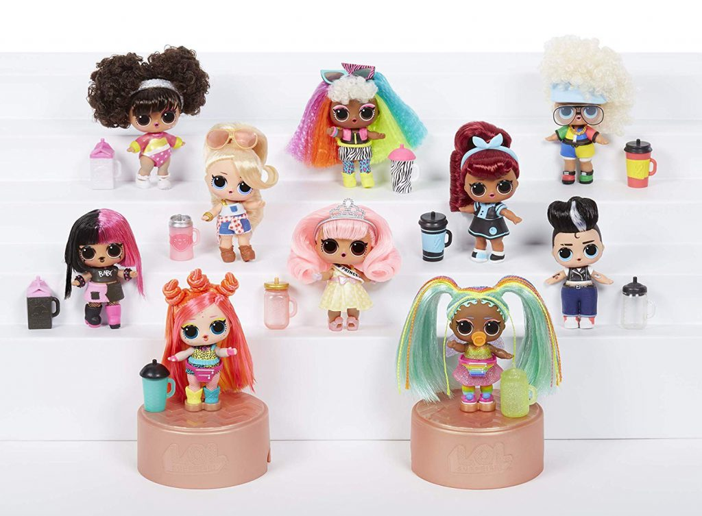 LOL Surprise Hairgoals Wave 2 Doll but on AMAZON