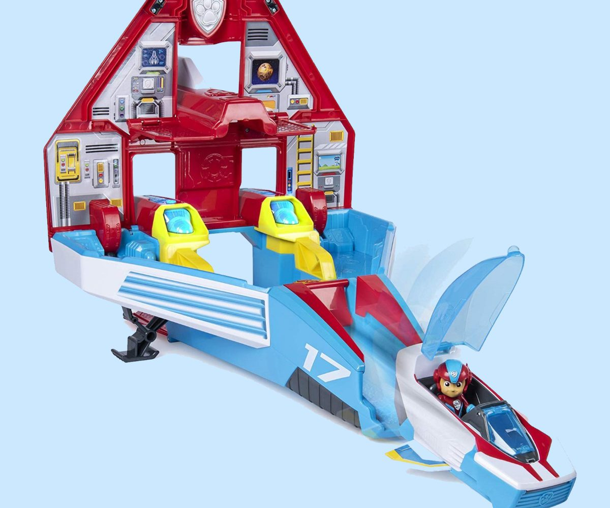 But it Now Paw Patrol Mighty Pups Jet Command Center Super Paws, 2-in-1 Transforming