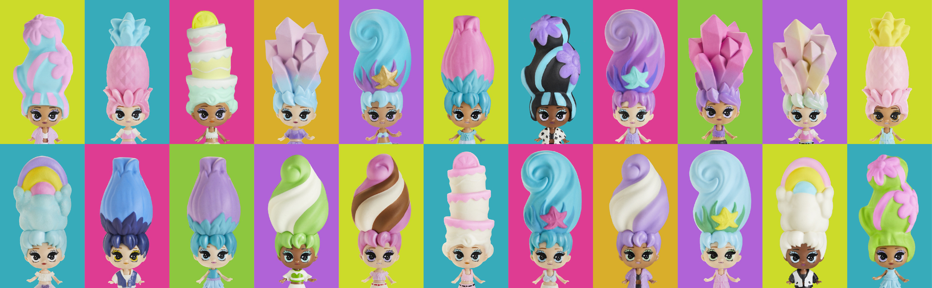 COLLECT ALL 22 Blume doll