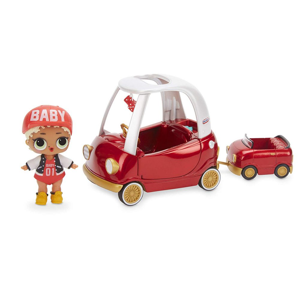 L.O.L. Surprise! Surprise Spaces Pack with Cozy Coupe & M.C. Swag buy on amazon