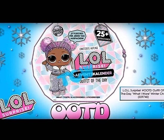 LOL Surprise Winter Disco OTTD The Day What I Wore buy it now