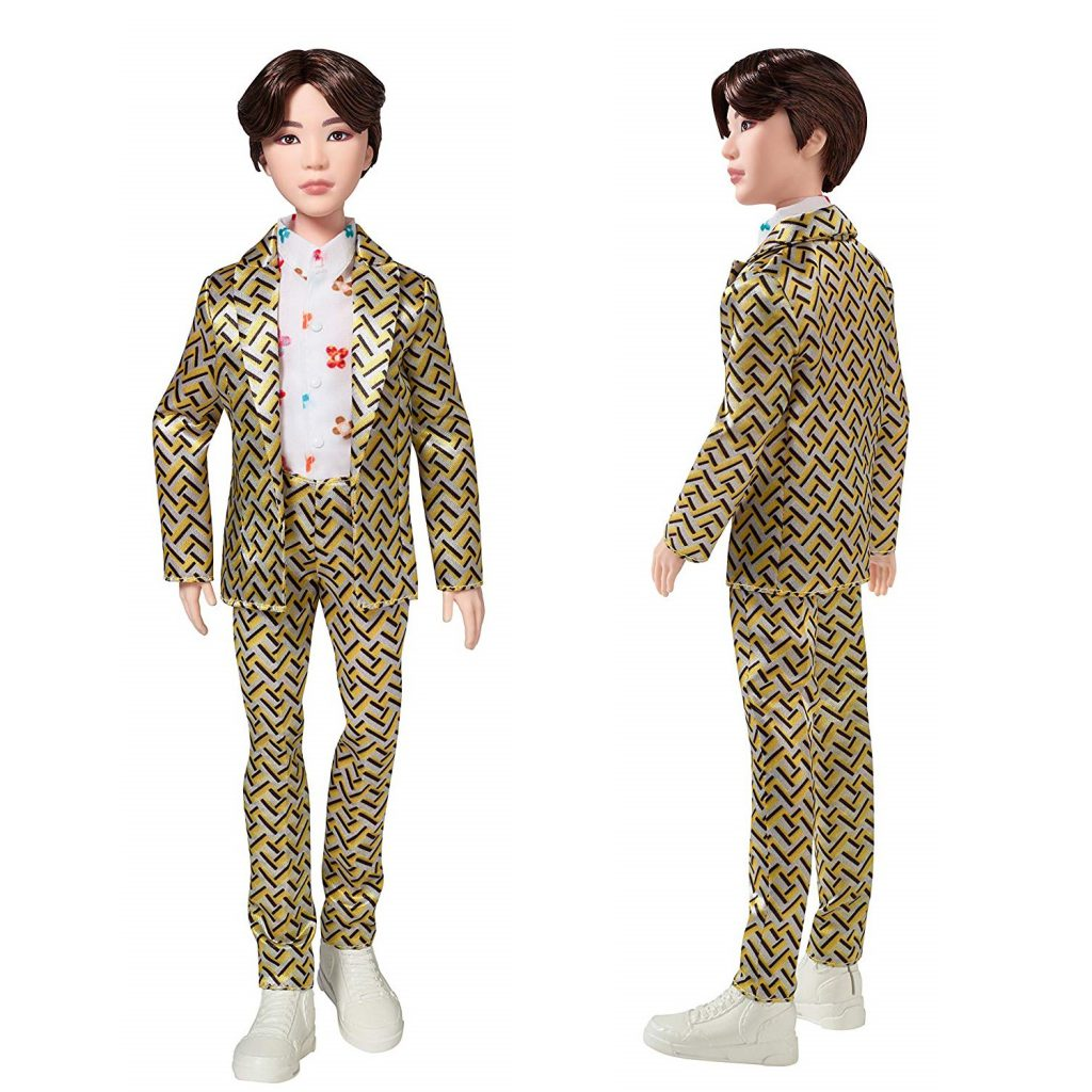 Mattel BTS SUGA Idol Doll release date and pre-order now amazon