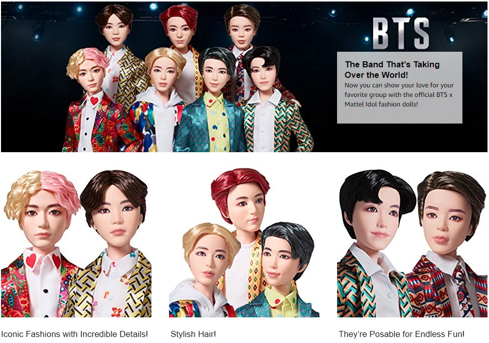 Mattel BTS buy doll