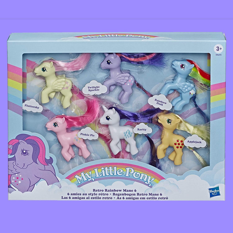 My Little Pony Retro Rainbow Mane 6 💓 Where to Buy? Price ...