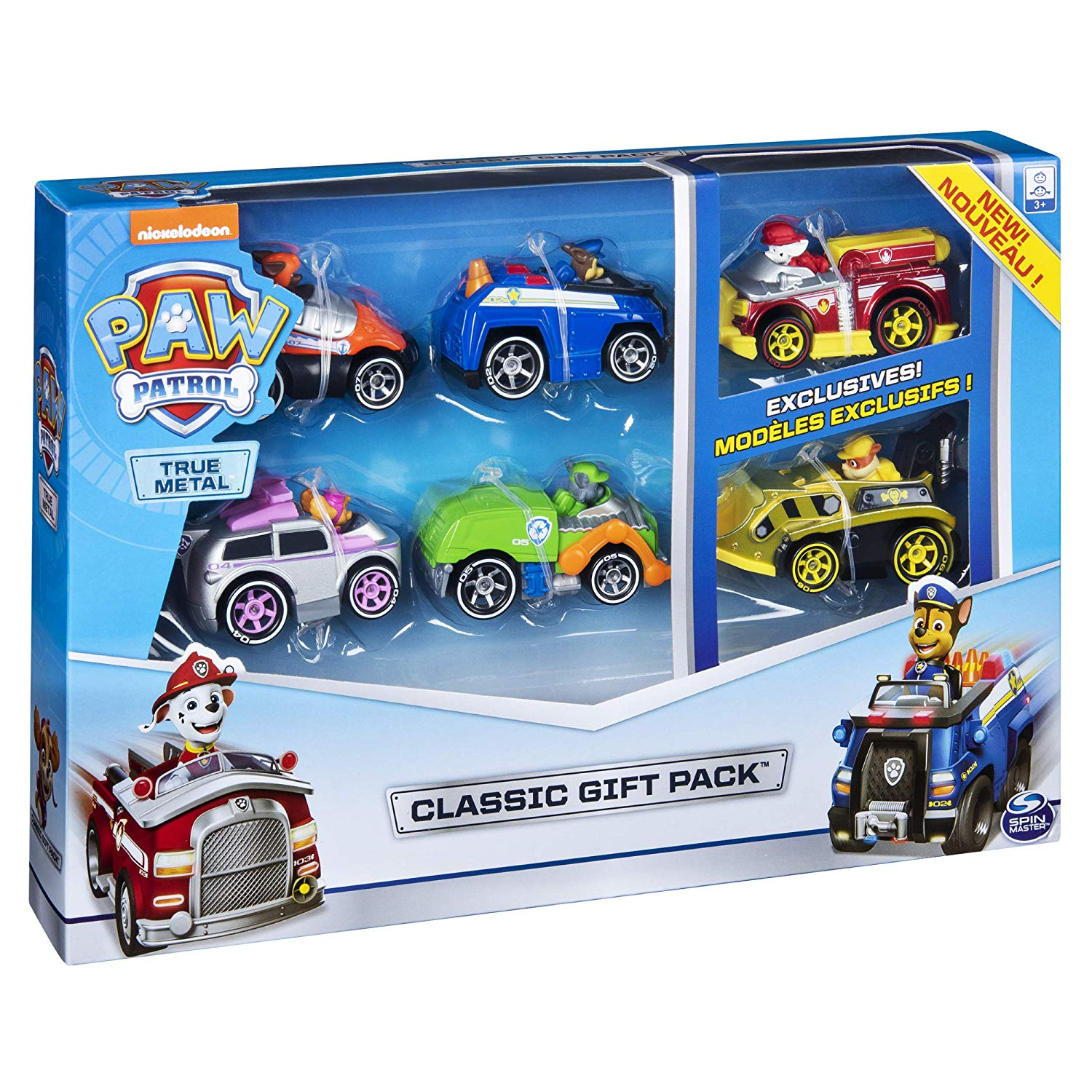Paw Patrol, True Metal Classic Gift Pack of 6 Collectible DIE-CAST Vehicles buy it now