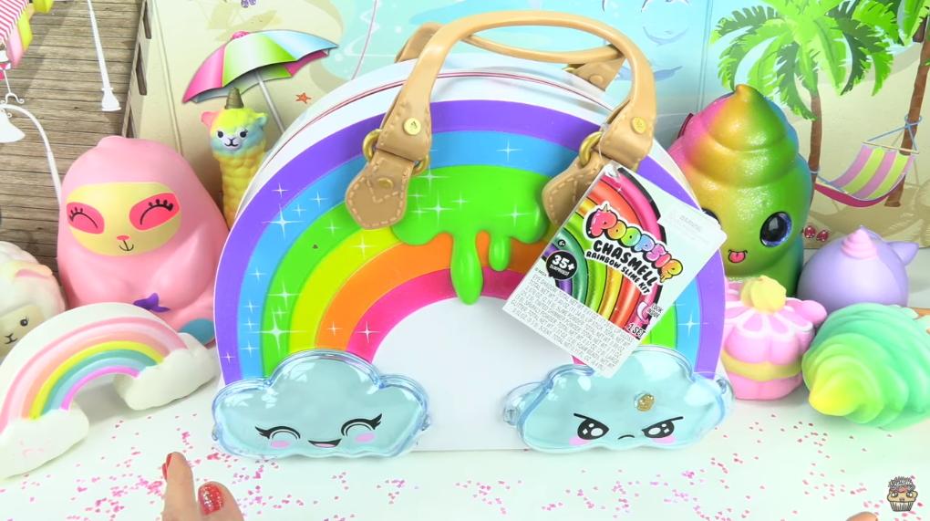 Poopsie Chasmell Rainbow Slime Kit Unboxing! Makeup + Unicorn DIY Slime 001