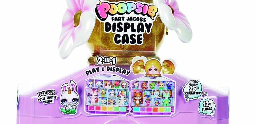 Poopsie Fart Jacobs Display Case where to buy it now