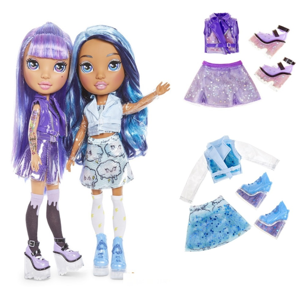 Poopsie Rainbow Girl series 2 Purple & Blue Lady 💓 Where to Buy