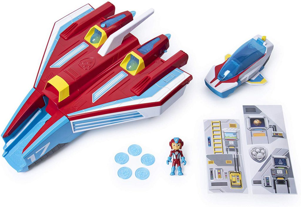 Where to buy Paw Patrol Mighty Pups Jet Command Center Super Paws, 2-in-1 Transforming with Lights and Sounds