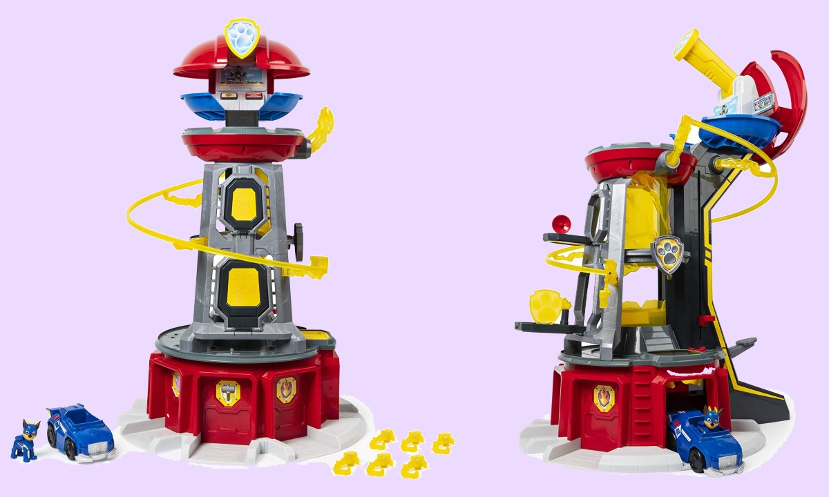 where to buy Paw Patrol, Mighty Pups Super Paws Lookout Tower Playset AMAZON