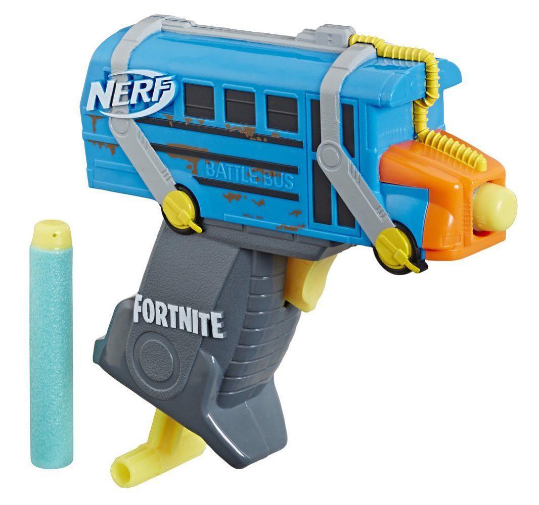Where to buy NERF Fortnite Micro Battle Bus Microshots Blaster