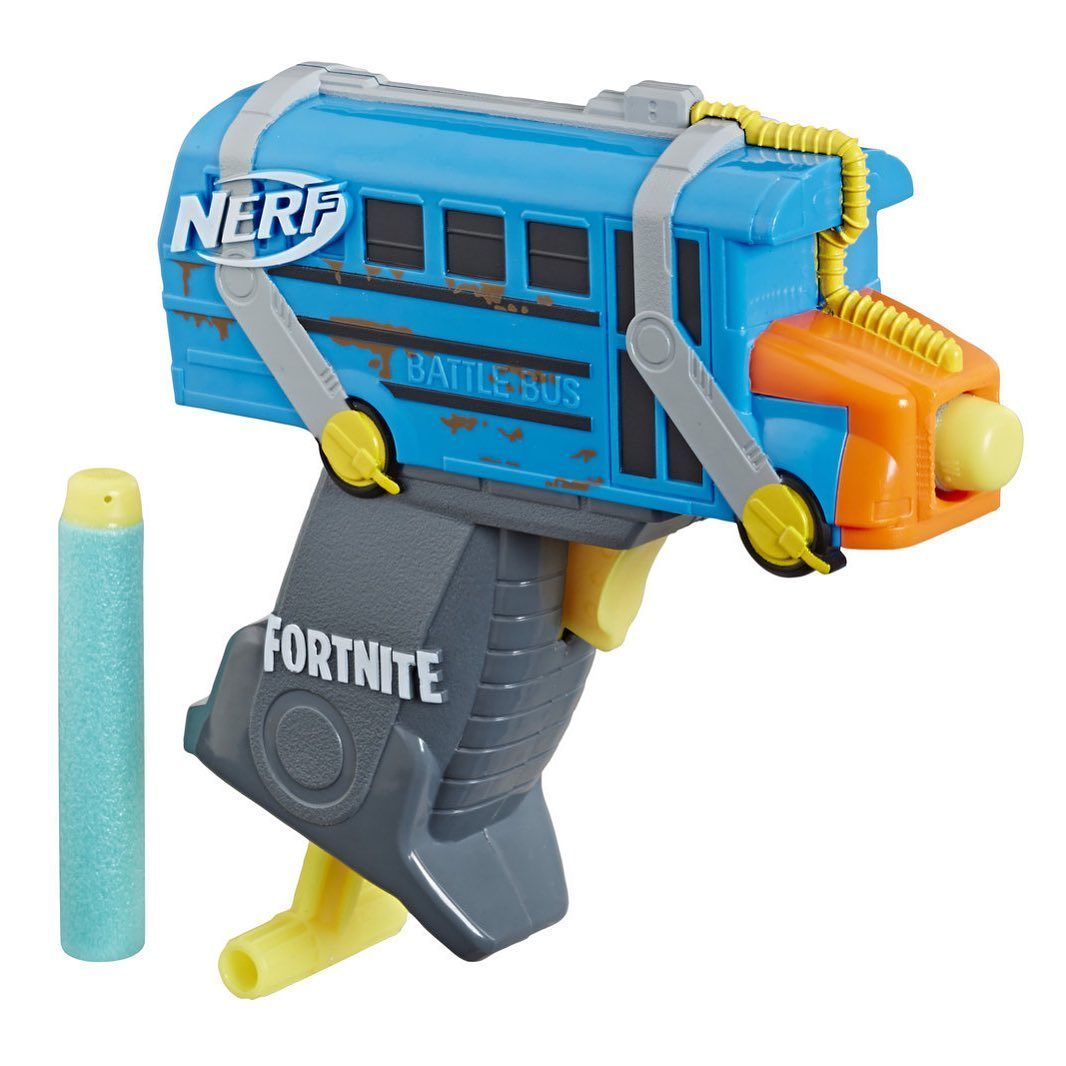 Where to buy NERF Fortnite Micro Battle Bus Microshots Blaster