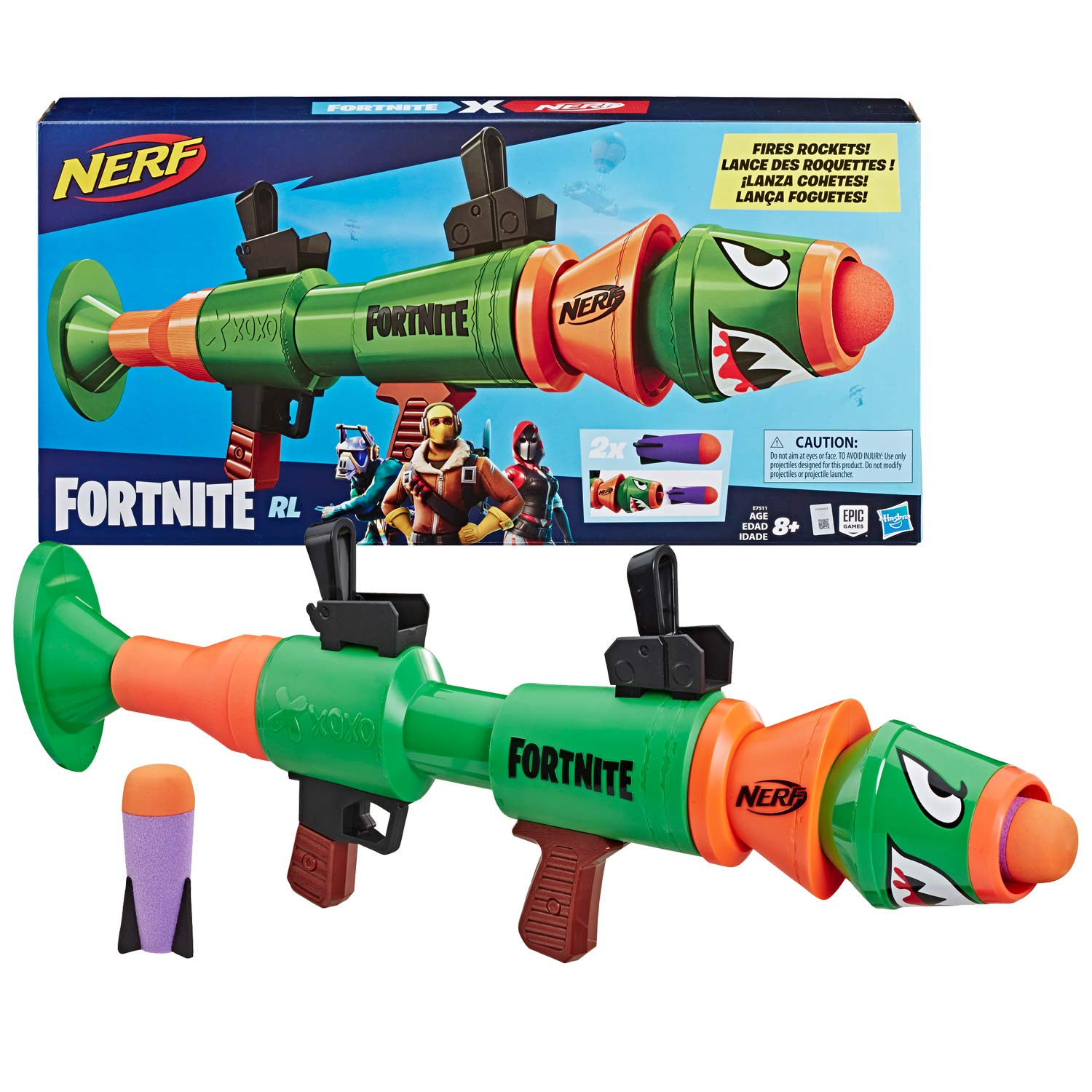 To buy NERF Fortnite RL Rocket-firing blaster