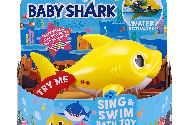 Where to buy Robo Alive Junior Baby Shark bath toys