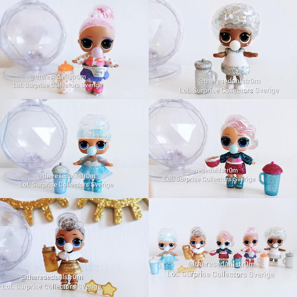 L.O.L. Winter Disco Glitter Globe
