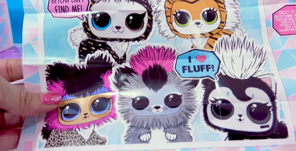 Winter Disco NEW LOL Surprise Fuzzy Pets Blind Bags 002