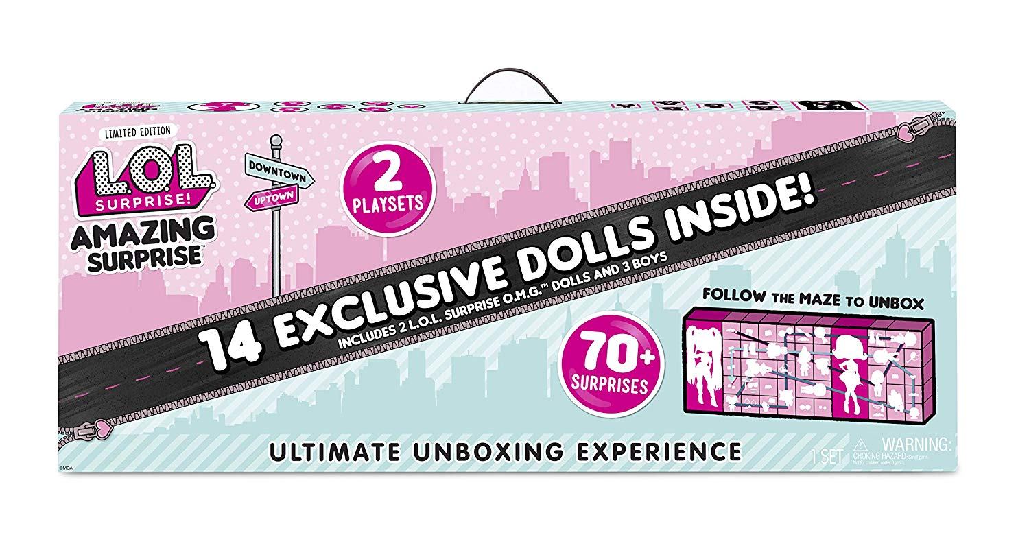 L.O.L. Surprise! Amazing Surprise with 14 Dolls & 70+ Surprises BUY IT NOW