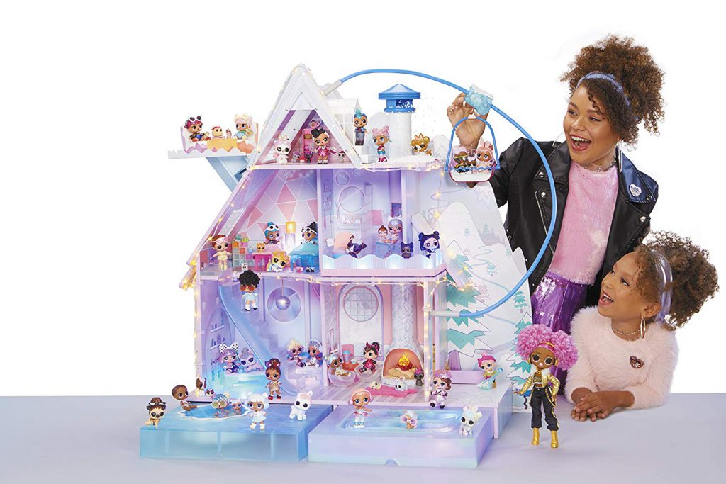 where to buy L.O.L. Surprise! Winter Disco Chalet Doll House with 95+ Surprises & Exclusive Family
