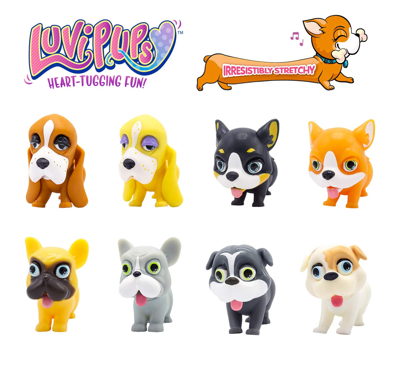 luvi puppy dogs stretchy
