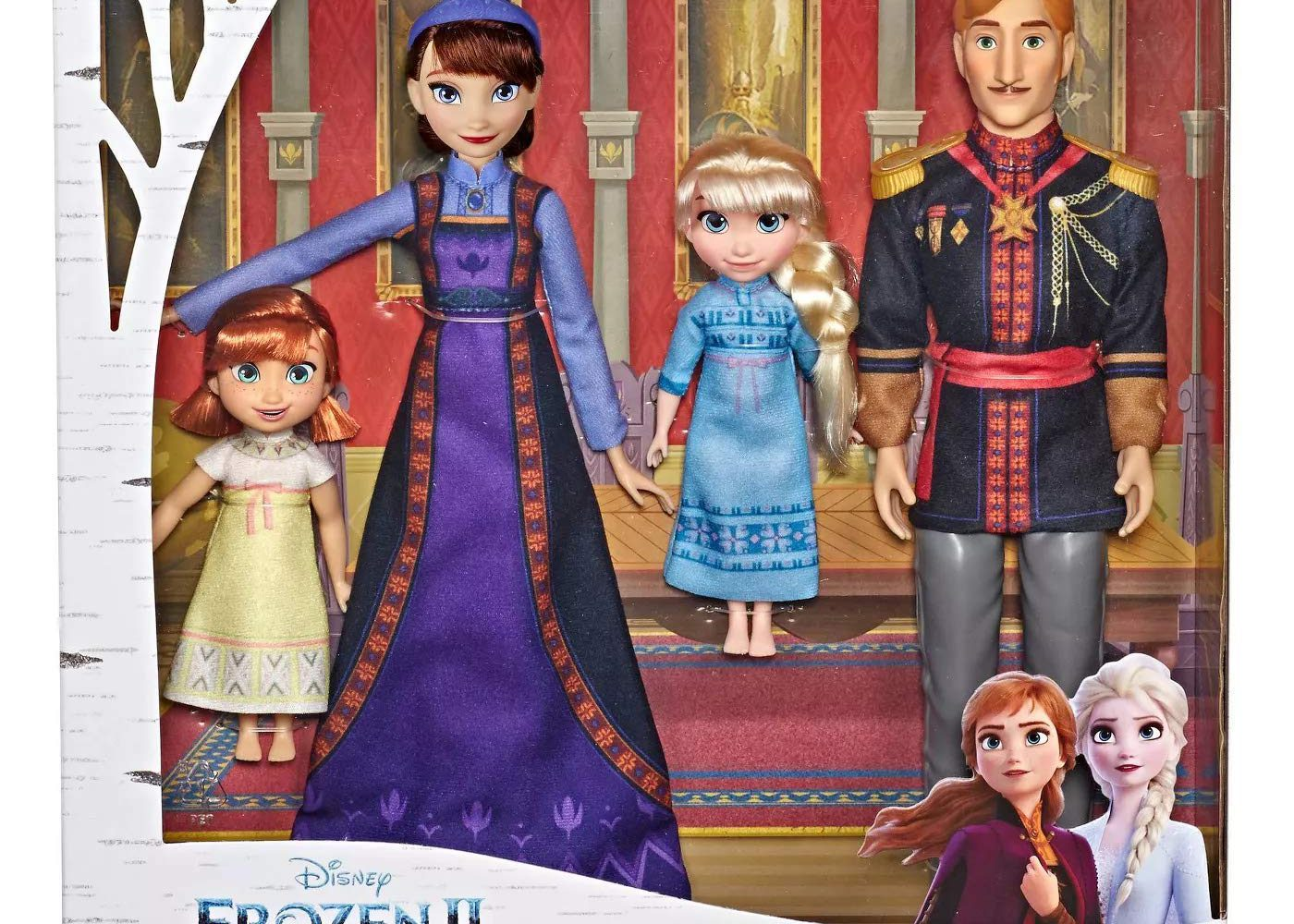 frozen 2 arendelle family set disney