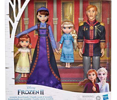 frozen 2 arendelle family set disney