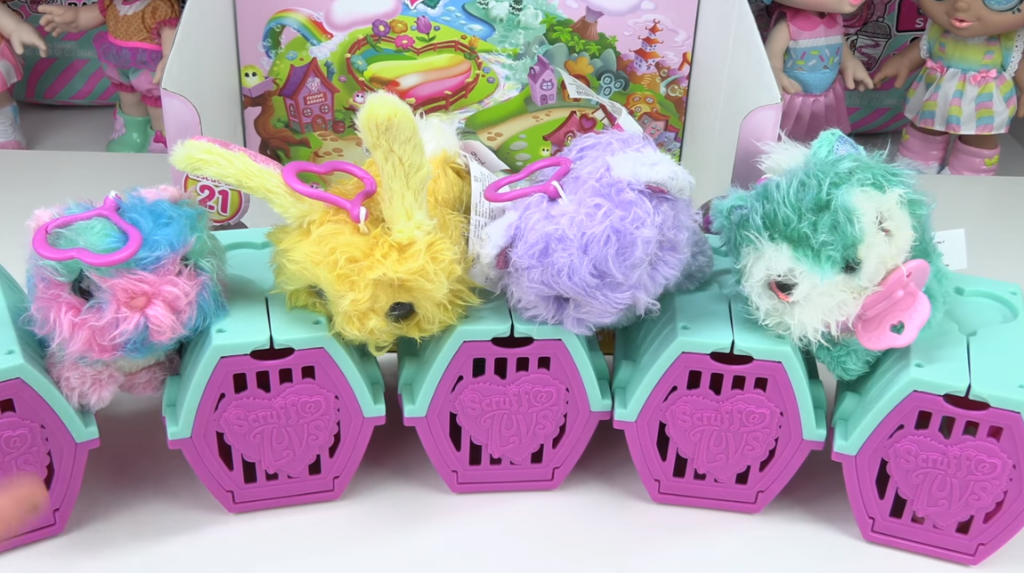 scruff a luvs babies little live containers pets