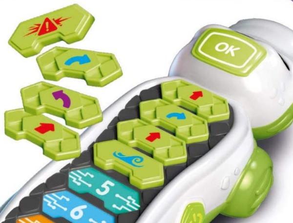 Coko Clementoni crocodile programmable robot