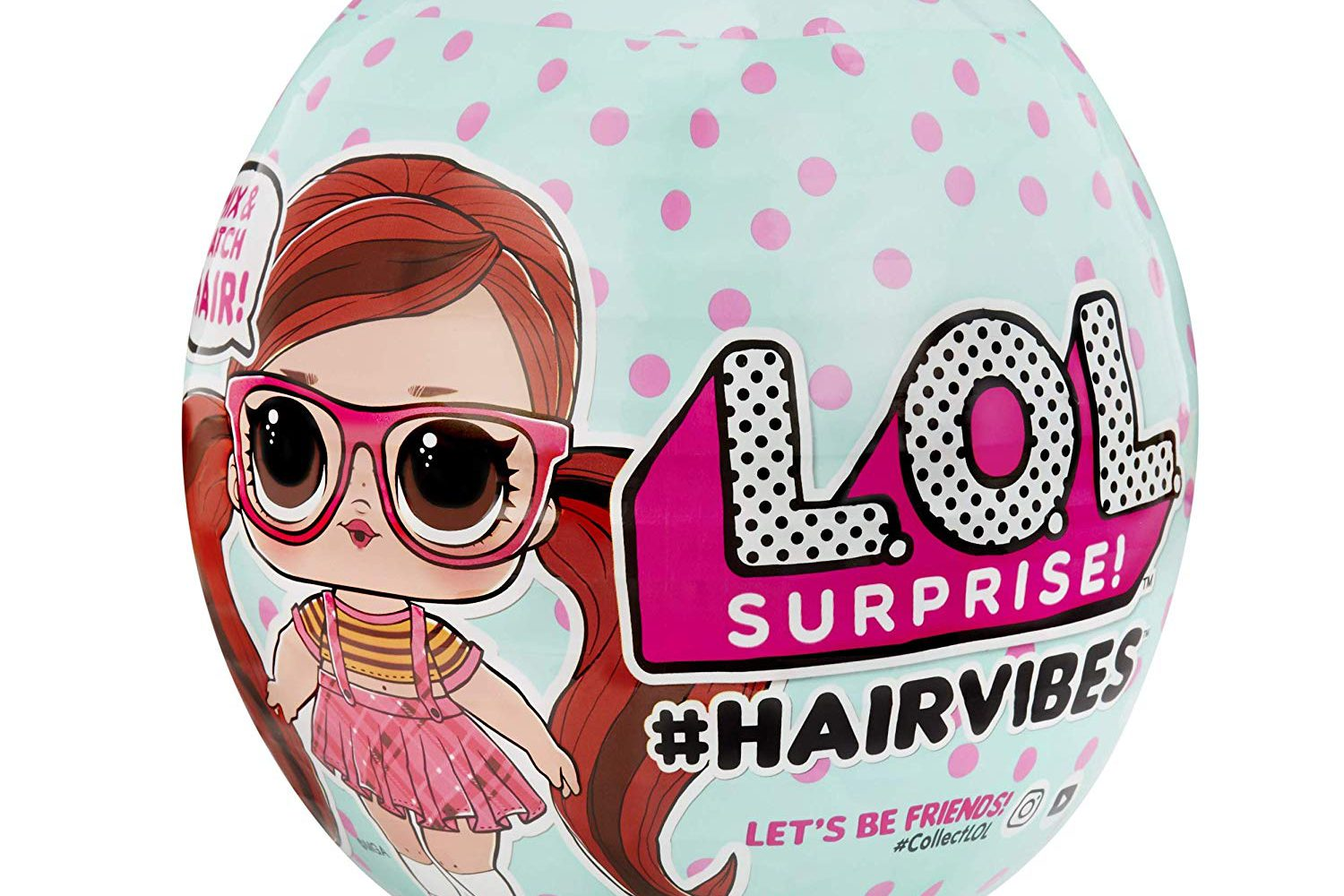 L.O.L. Surprise! #Hairvibes Dolls is out preorder now