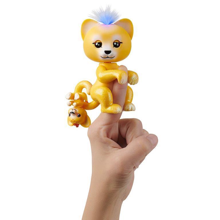 fingerlings lion sam cub leo wowwee