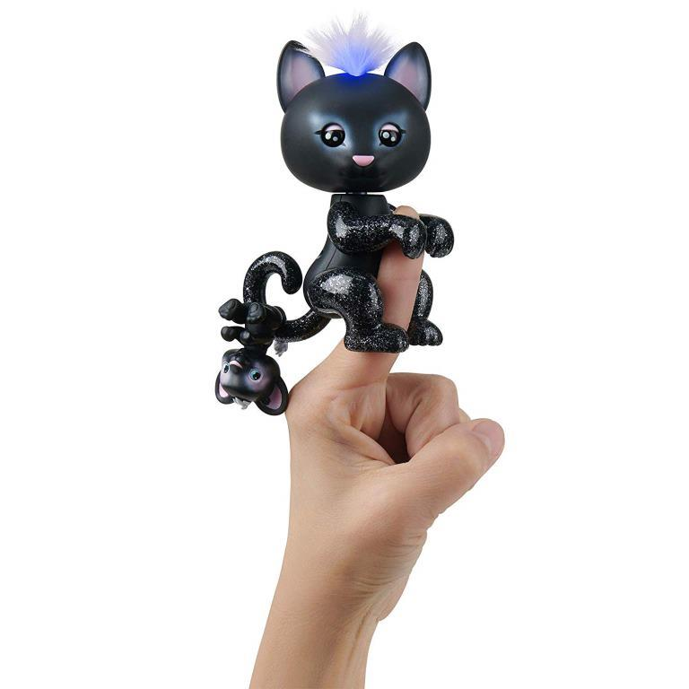 wowwee fingerlings black panter allec