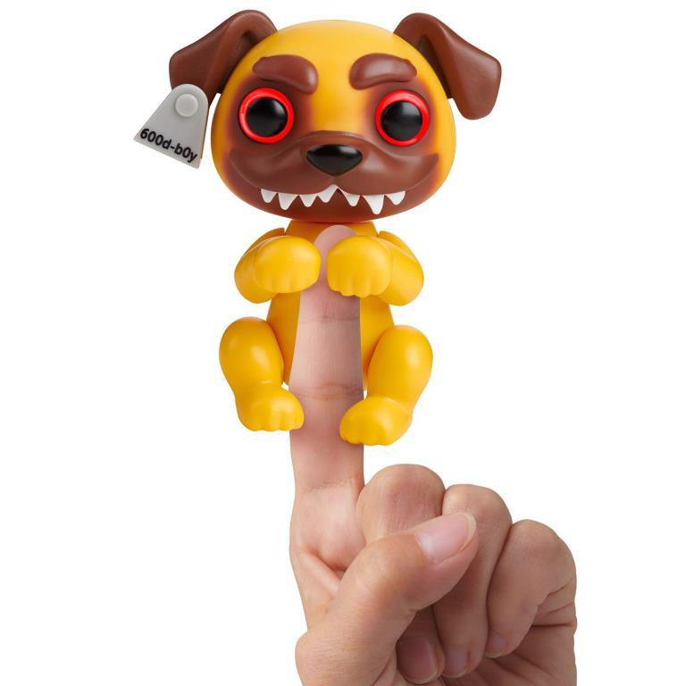 wowwee fingerlings grimlings scaredy cat pug