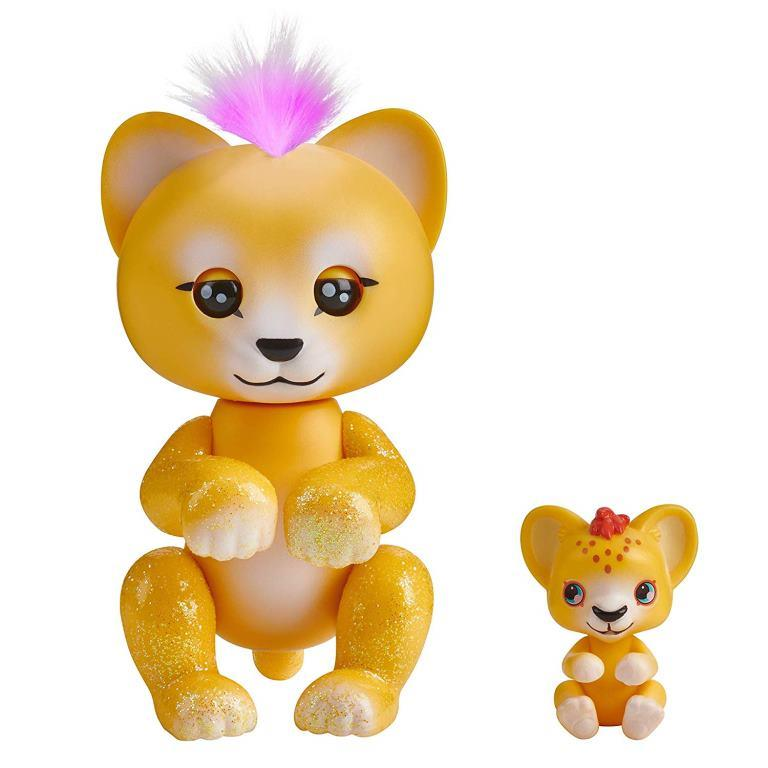 wowwee fingerlings lion sam cub leo