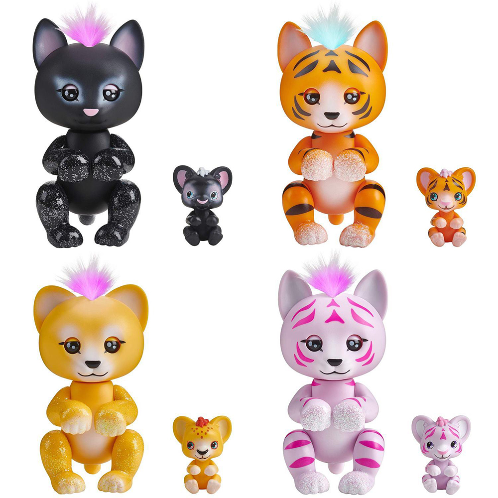 wowwee fingerlings panter, lion, tigers