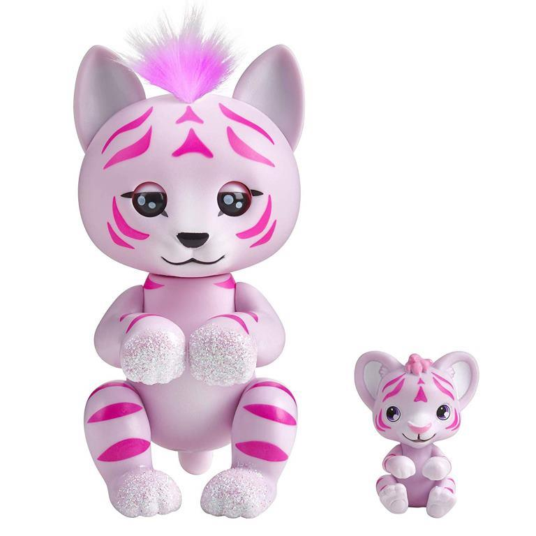 wowwee fingerlings tiger tilly cub tammy