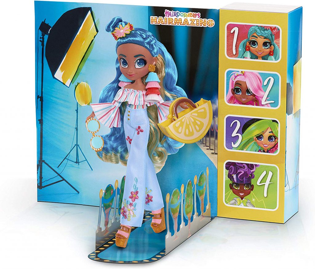 New Hairdorables Hairmazing Harmony Fashion Doll With 6 Surprises