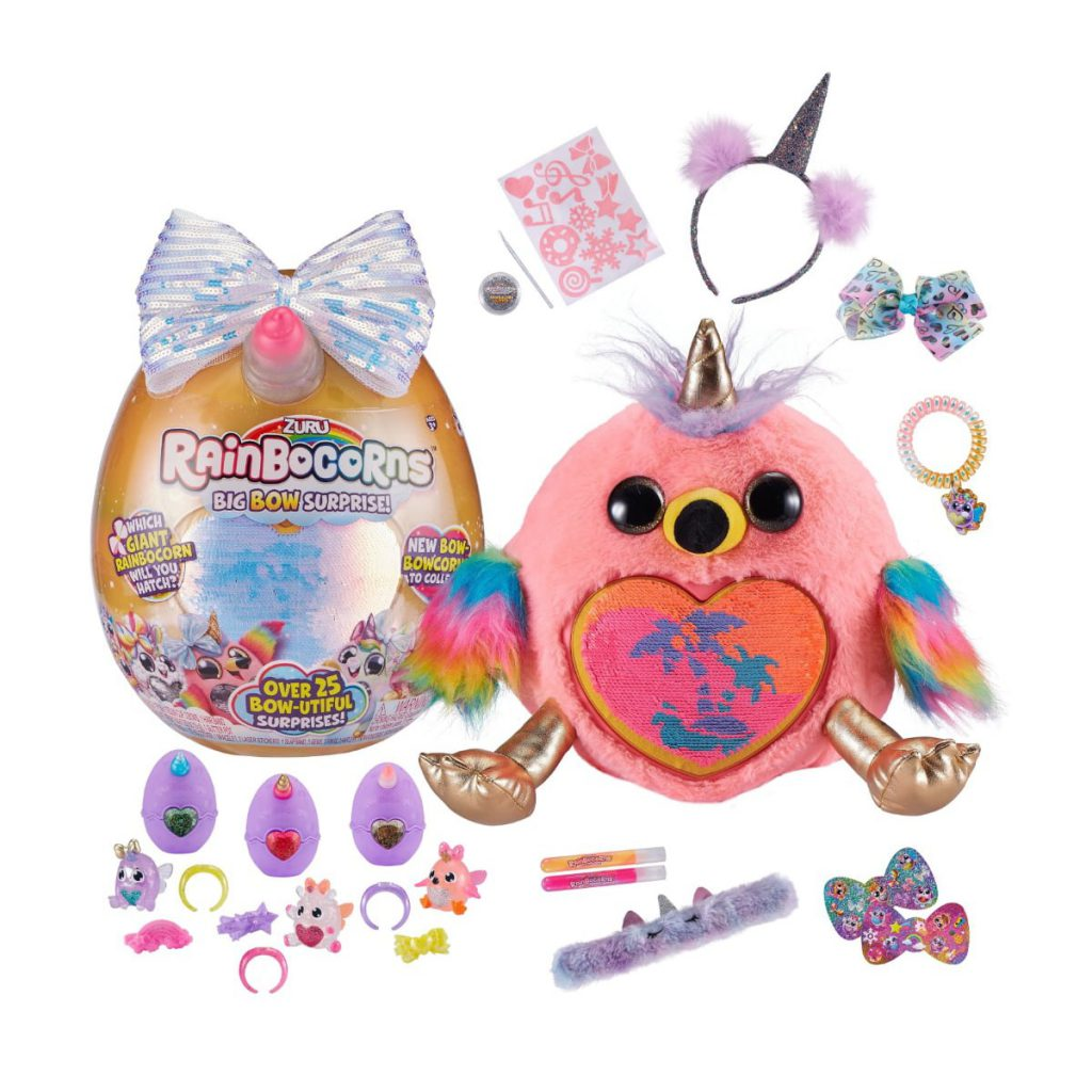 Surprises! Rainbocorns Giant Big Bow Surprise Mystery Egg Includes 25 Llama