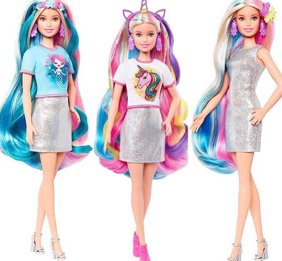 2020 Barbie Fantasy Hair Doll where to buy