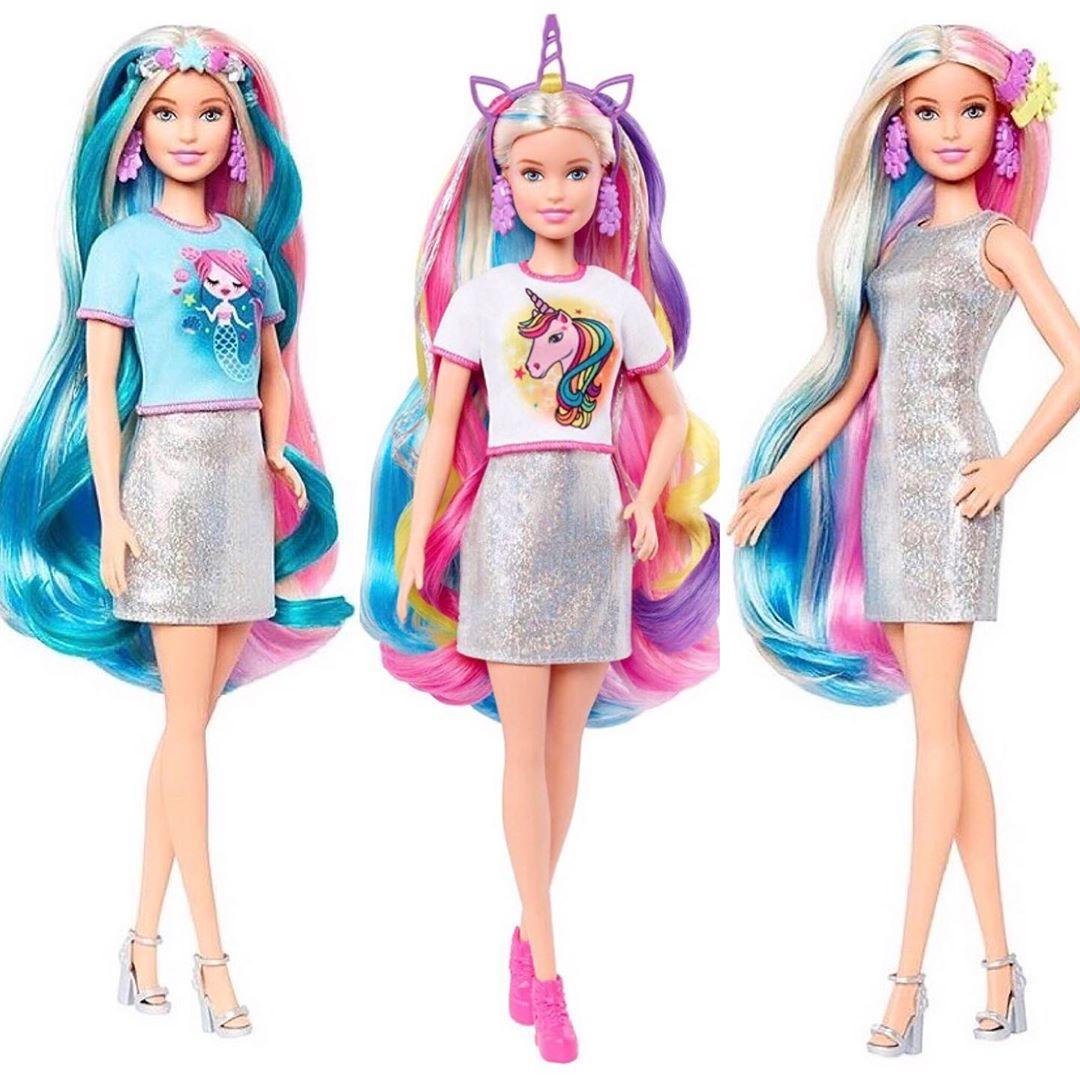 2020 Barbie Fantasy Hair Doll where to buy