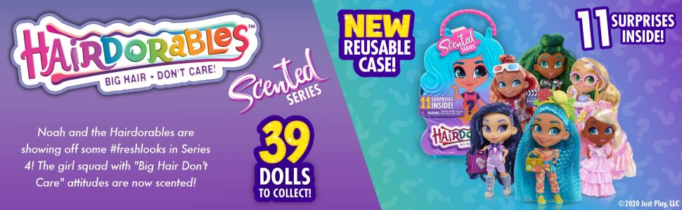 Hairdorables Collectible Dolls ? Series 4 (Styles May Vary)