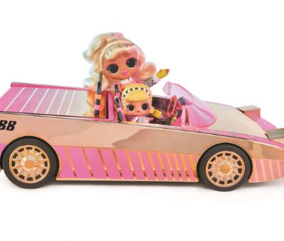 L.O.L. Surprise! Car-Pool Coupe with Exclusive Doll, Surprise Pool & Dance Floor where to buy now